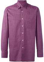 Canali chest pocket shirt