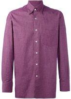 Canali chest pocket shirt