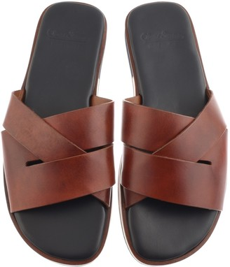Oliver Sweeney Sweeney Balkholme Flip Flop Sandals Tan Brown