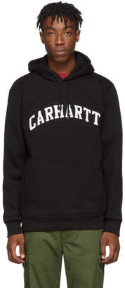 Carhartt Work In Progress Black Princeton Hoodie