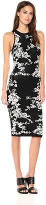Rachel Roy Women's Knit Midi Floral Dress