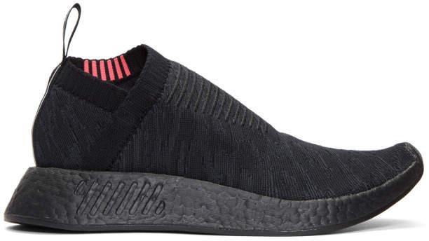 adidas Black NMD CS2 PK Sneakers