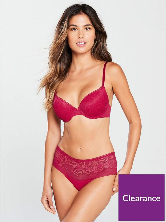 Wonderbra Fabulous Feel Shorty - Red