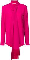 Stella McCartney scarf detail blouse - women - Silk/Viscose - 40