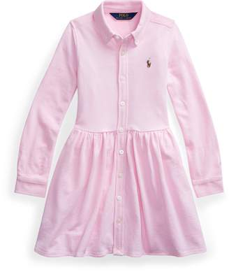 Ralph Lauren Knit Oxford Shirtdress