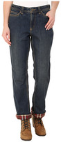 Carhartt Relaxed Fit Denim Flannel-Lined Jeans