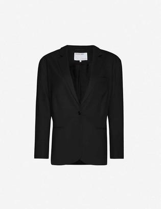 Designers Remix Marley tailored-fit stretch-twill blazer