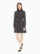 Kate Spade Swans shirtdress