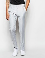 French Connection Cotton Satin Wedding Suit Pants