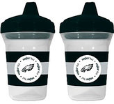 Baby Fanatic NFL Eagles 2-Pack Sippy Cups