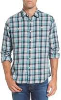 Grayers Men's Trevor Modern Fit Slub Twill Sport Shirt