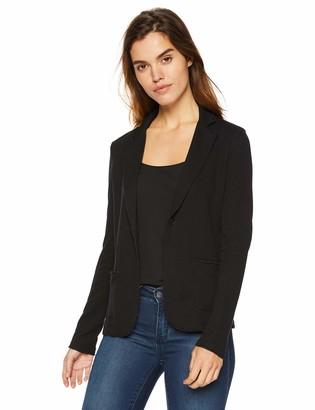 Majestic Filatures Women's Cotton/Cashmere Blend Double-Face 1-Button Blazer