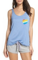 Junk Food Clothing Women's Heart Tank