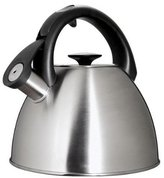 OXO Good Grips Click Click Tea Kettle, Brushed Stainless Steel
