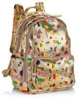 Bari Lynn Mini Emoji Backpack