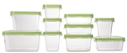 OXO LockTop® Plastic Storage Container Starter Set, 10 Piece