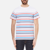 A.p.c. Regular Stripe Tshirt - Multicolour