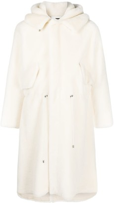 Mr & Mrs Italy Nick Wooster Unisex Parka M51 In Lamb Fur
