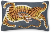 Williams-Sonoma Dharma Tiger Embroidered L umbar Pillow Cover