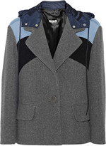 Miu Miu Paneled wool jacket