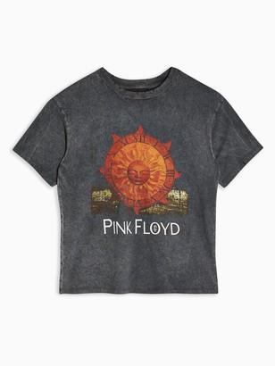 Topshop Pink FloydT-shirt - Washed black