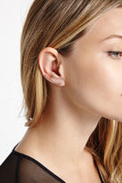 BCBGeneration Rhinestone-Pave Wrap Earrings - Gold