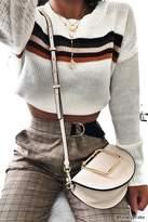 Forever 21 Structured Crossbody Saddle Bag