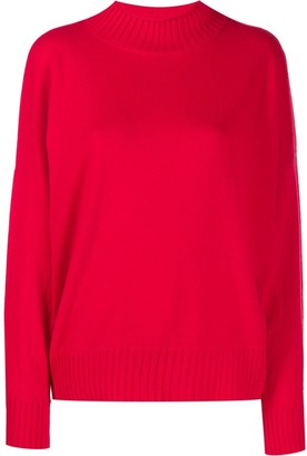 Allude Long Sleeve Knitted Jumper