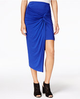 Kensie Layered Sarong Skirt