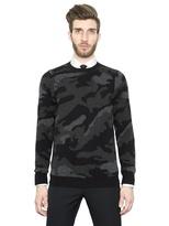 Valentino Cashmere Camouflage Sweater