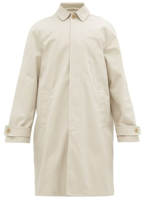 Éditions M.R Editions M.R - Michel Single-breasted Gabardine Trench Coat - Mens - Cream