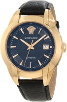 Versace Women's 25A380D008 S009 Character Automatic Rose Gold PVD Dial Leather Watch