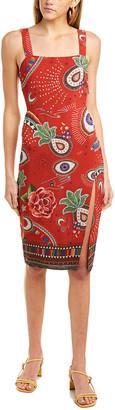 Farm Rio Mystic Red Dress