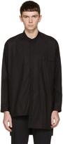 Isabel Benenato Black Poplin Oversized Shirt