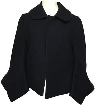 Comme des Garcons Black Wool Jackets