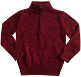 Chaps Toddler Boy 1/4-Zip Pullover Sweater