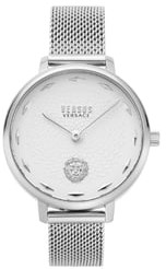 Versace La Villette Mesh Strap Watch, 36mm