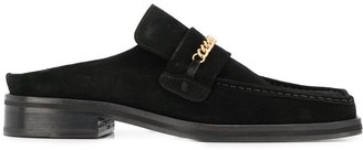 Martine Rose Chain Link Slip-On Loafers
