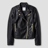 art class Girls' Moto Jacket - Art Class Black