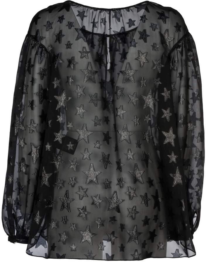 Saint Laurent Star Pattern Gypsy Blouse