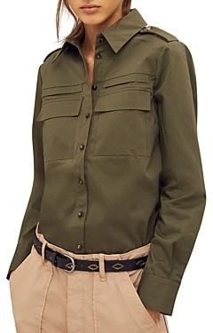 BA&SH ba & sh Oasis Military Shirt