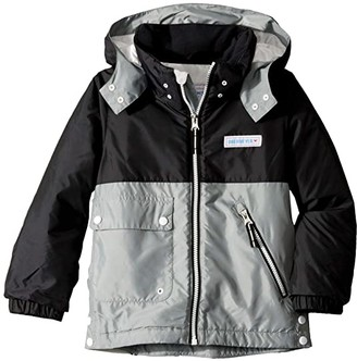 Obermeyer Landon All-Season Jacket (Toddler/Little Kids/Big Kids) (Black) Kid's Clothing