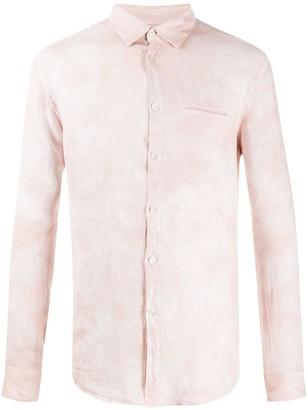 John Varvatos Welt-Pocket Crinkle Shirt