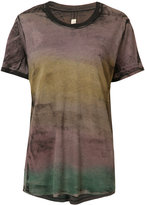 Raquel Allegra tie-dye T-shirt - women - Cotton/Polyester - 1