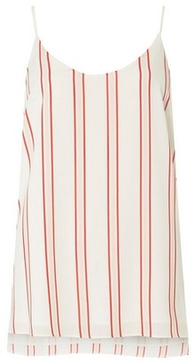 Dorothy Perkins Womens **Tall Multi Coloured Striped Camisole Top, Multi Colour