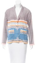 Clover Canyon Printed Button-Up Jacket