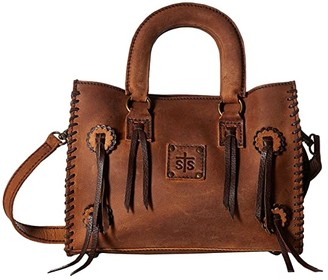 Sts Ranchwear STS Ranchwear Small Chaps Satchel (Brown) Satchel Handbags
