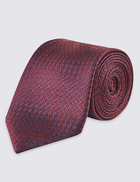 Limited Edition Pure Silk Contemporary Textured Tie