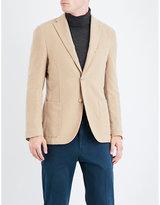 Boglioli Regular-fit Brushed-cotton Jacket