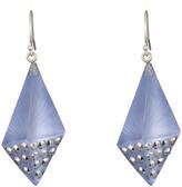 Alexis Bittar Metallic Crystal Encrusted Lucite Kite Earring